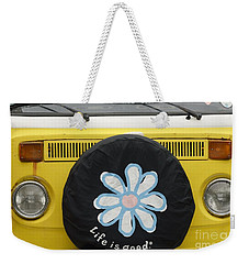 Life Is Good With Vw Weekender Tote Bag