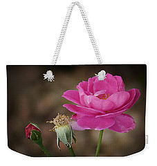 Weekender Tote Bag featuring the photograph Life by Lucinda Walter