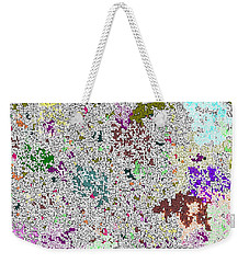 Life 'n Flux Weekender Tote Bag by Joseph Baril