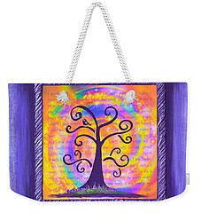Weekender Tote Bag featuring the painting Life Of Perfect Health by Agata Lindquist