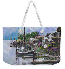Alameda Life On The Estuary Weekender Tote Bag