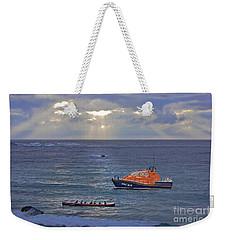 Lifeboats And A Gig Weekender Tote Bag
