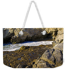 Lifeguard Tower On The Edge Of A Cliff Weekender Tote Bag