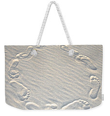Life's A Beach Weekender Tote Bag by Charlie and Norma Brock