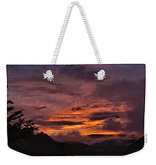 Light And Color Show Weekender Tote Bag