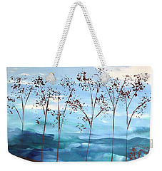 Weekender Tote Bag featuring the painting Light Breeze by Linda Bailey