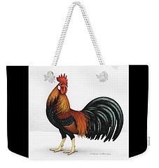 Light Brown Leghorn Weekender Tote Bag