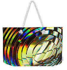 Light Color 1 Prism Rainbow Glass Abstract By Jan Marvin Studios Weekender Tote Bag