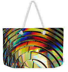 Light Color 2 Prism Rainbow Glass Abstract By Jan Marvin Studios Weekender Tote Bag