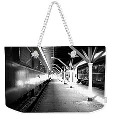 Weekender Tote Bag featuring the photograph Light by Faith Williams