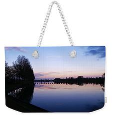 Light Fall Weekender Tote Bag