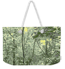 Light Forest Scene Weekender Tote Bag by Tom Wurl