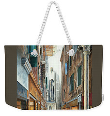 Light From San Salvador Merceria Del Capitello San Marco Venezia Weekender Tote Bag