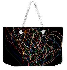Light Hearted Weekender Tote Bag