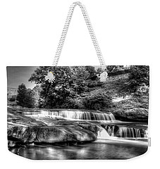 Light In Black And White Weekender Tote Bag
