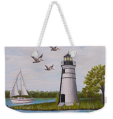 Light  In Madisonville Weekender Tote Bag