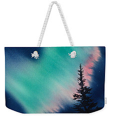 Light In The Dark Of Night Weekender Tote Bag