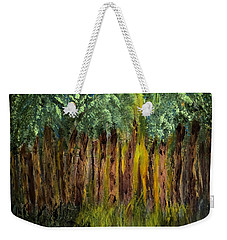 Light In The Forest Weekender Tote Bag by Dick Bourgault
