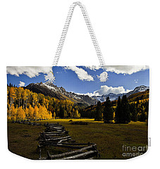 Light In The Valley Weekender Tote Bag by Steven Reed