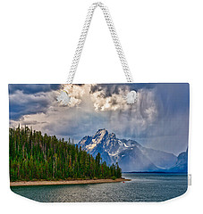 Light On Moran Weekender Tote Bag by Greg Norrell