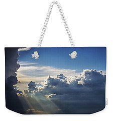 Light Shafts From Thunderstorm II Weekender Tote Bag