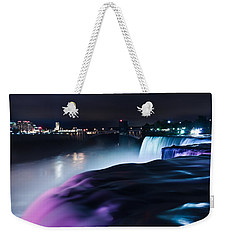 Light Show Weekender Tote Bag by Mihai Andritoiu