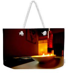Light The Bottle Weekender Tote Bag by Melinda Ledsome