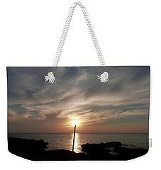 Light The Sun Weekender Tote Bag by Amar Sheow