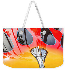 Lightening Fired Ford Weekender Tote Bag