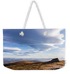 Lightfall On Djouce Mountain Summit Weekender Tote Bag by Semmick Photo