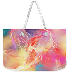 Lighthearted - Abstract Art Weekender Tote Bag by Jaison Cianelli