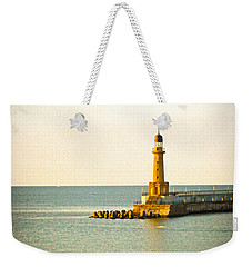 Lighthouse - Alexandria Egypt Weekender Tote Bag