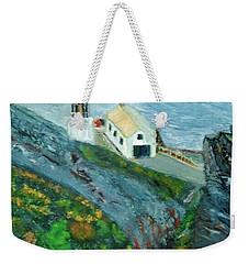 Lighthouse At Point Reyes California Weekender Tote Bag