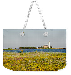 Lighthouse At Yellow Coast Weekender Tote Bag