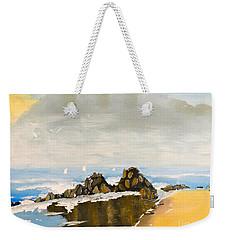 Lighthouse Beach Weekender Tote Bag