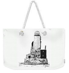 Lighthouse Weekender Tote Bag by C Sitton