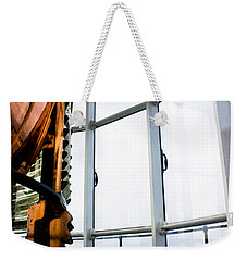 Lighthouse Lens Weekender Tote Bag
