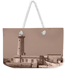 Lighthouse Marsala Weekender Tote Bag