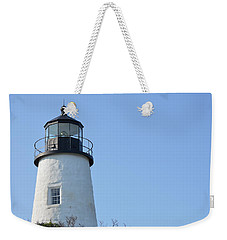 Lighthouse On Clear Day Weekender Tote Bag