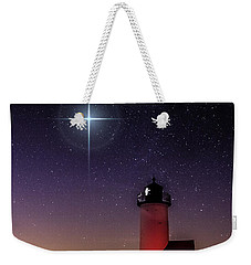 Lighthouse Star To Wish On Weekender Tote Bag by Jeff Folger