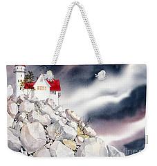 Lighthouse Weekender Tote Bag by Teresa Ascone