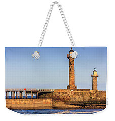 Lighthouses On The Piers Weekender Tote Bag