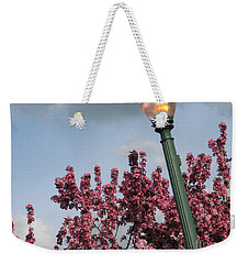 Weekender Tote Bag featuring the photograph Lighting Up The Day by Michael Krek