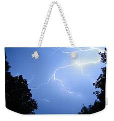 Lighting Up The Night Weekender Tote Bag by Tiffany Erdman