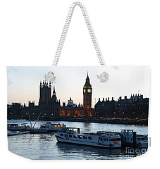 Lighting Up Time On The Thames Weekender Tote Bag