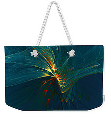 Lightness Weekender Tote Bag by Klara Acel