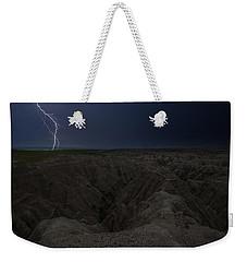Lightning Crashes Weekender Tote Bag