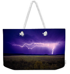 Lightning Serengeti Weekender Tote Bag