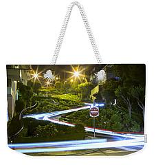Lights On Lombard Weekender Tote Bag