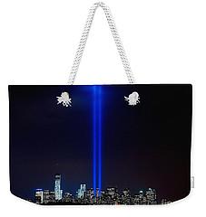 Lights Over Nyc Weekender Tote Bag